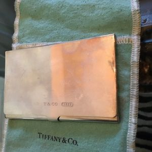 Tiffany & Co. Business Card Holder